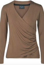 Eva & Claudi Eva & Claudi Shirt, Langarm Al 68cm Casch ceur 95% Viscose