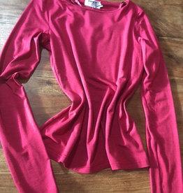 Fox's C1T992 Langarmshirt  AL 70cm, Viscose Rundhals