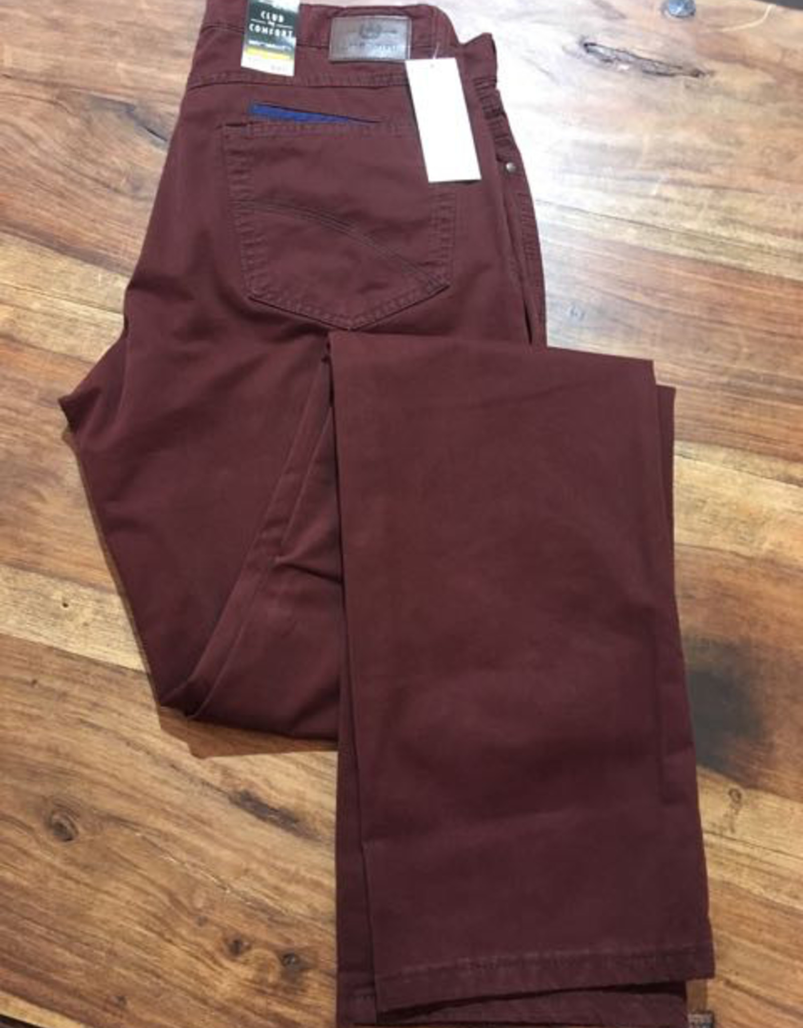 Club of Comfort CoC Hose Beene, 5 Pocket, Pima Cotton, 40inches