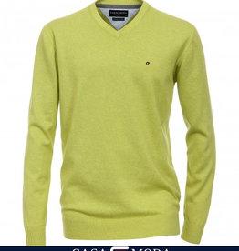 Casamoda Pullover V-Ausschnitt AL 72cm 100% Baumwolle