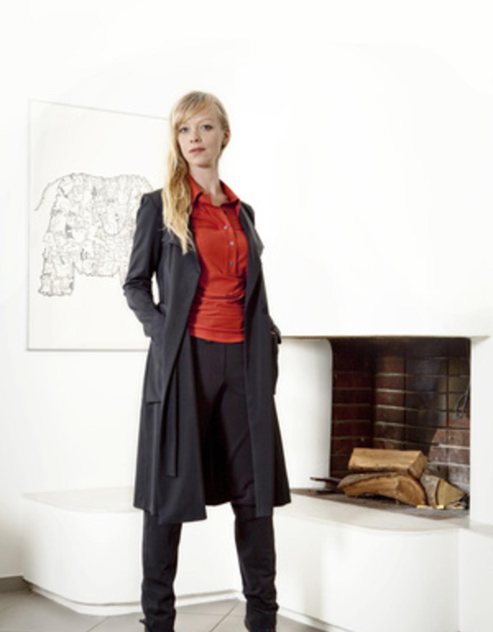Nina Noka nina noka Longblazer perfektes Reisematerial Knitterresistent fürs Business