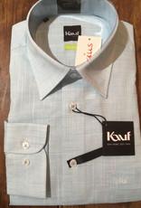 Kauf Kauf Slimfit H-Hemd, tailliert, Leinenoptik