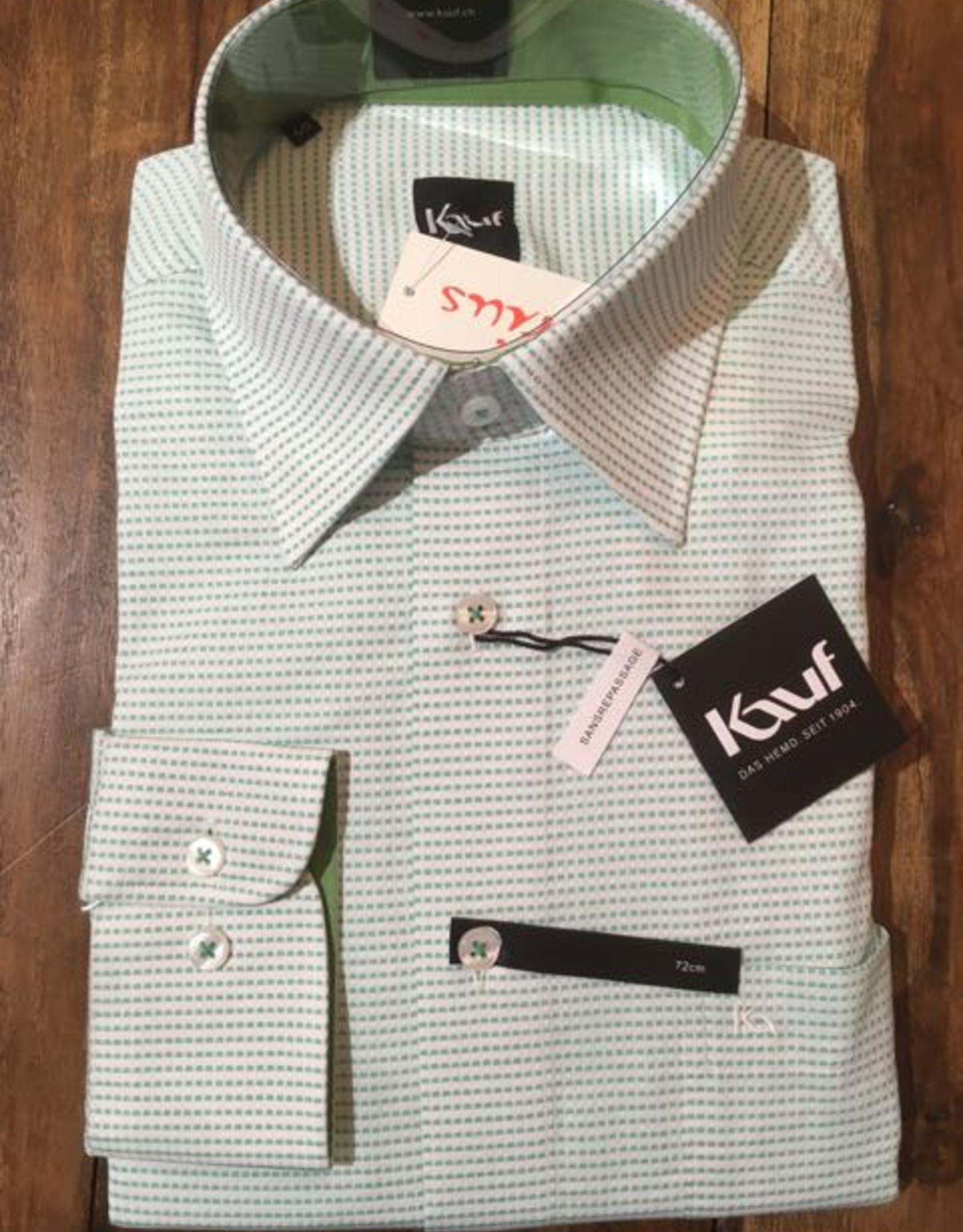 Kauf Kauf Slimfit H-Hemd, tailliert, Streifenoptik
