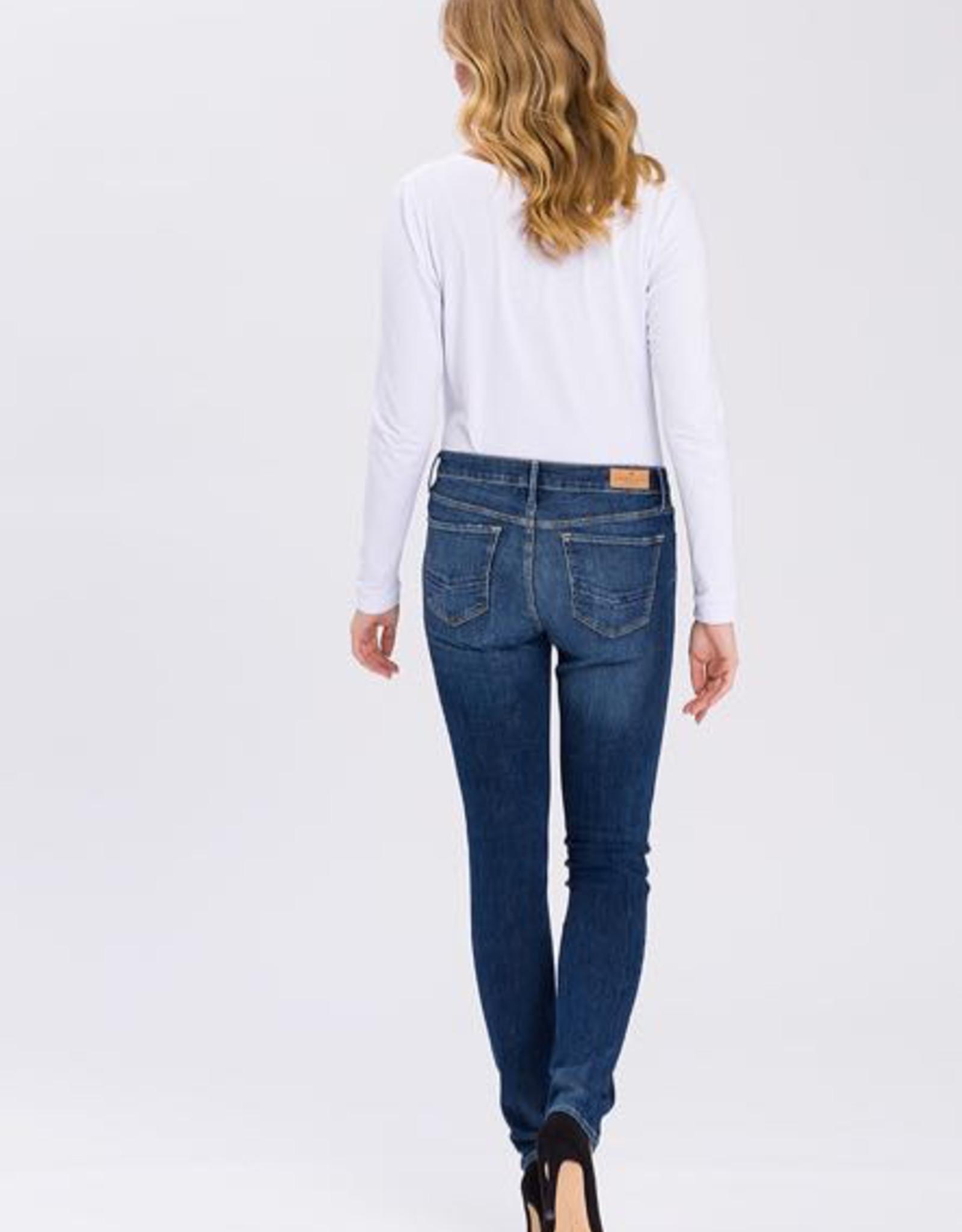 Cross Jeans Cross D-Jeans Anya, slim und hoch geschnitten