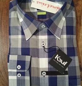 Kauf Kauf Slimfit H-Hemd, tailliert, grosse Karros