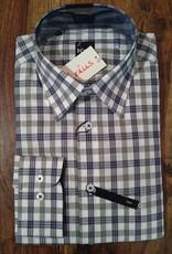Kauf Kauf Slimfit H-Hemd, tailliert, kleine Karros