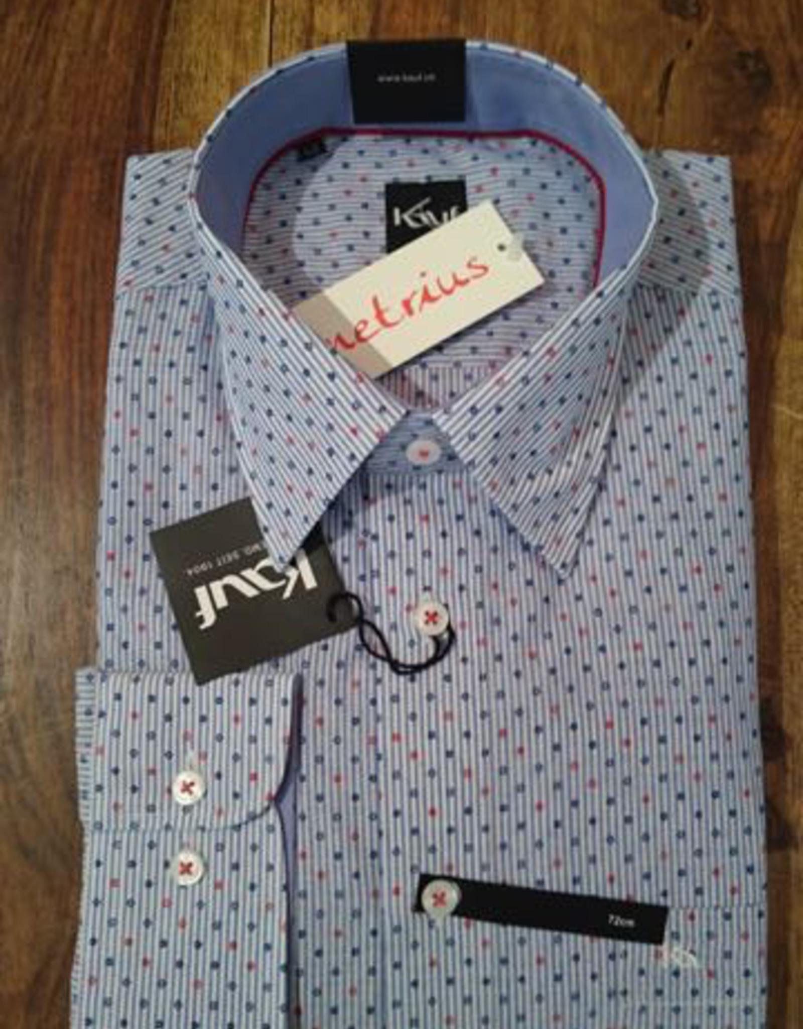 Kauf Kauf Slimfit H-Hemd, tailliert, micro Blumen
