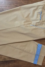 Club of Comfort CoC Herren Hose Gaston, Highstretch Kontrastseite yum krempeln Schrittl. 40inches Baumwolle