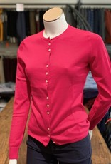 Moray Moray Damen Twin Set Cardigan, <br /> Cotton/Silk/Cashmere