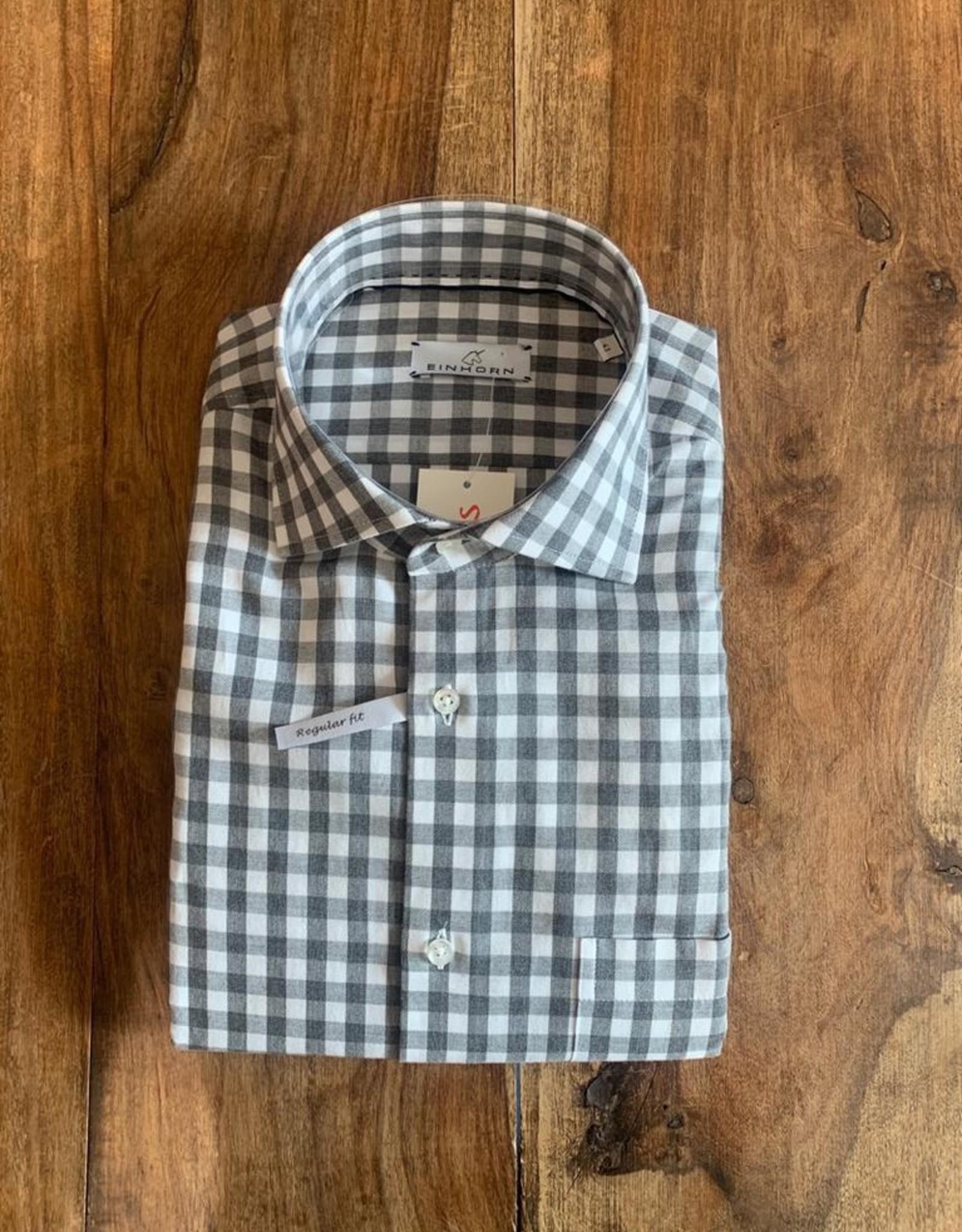 Einhorn Einhorn Hemd mit Hai Kragen elegantem Rohmben Print