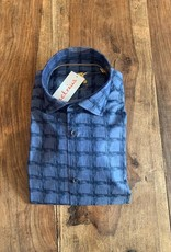 Einhorn Einhorn Hemd Willis Blue Print