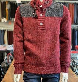 PME PME Herren Pullover AL 70cm Wollmischung, grobstrick