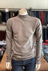Moray Moray Pullover, Sculptured turtle, tailliert mit Stehkragen, 100% Cashmere