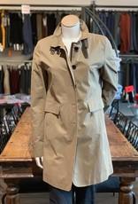 wellington Wellington Damen Regen-Mantel tailliert Armlänge 70cm.