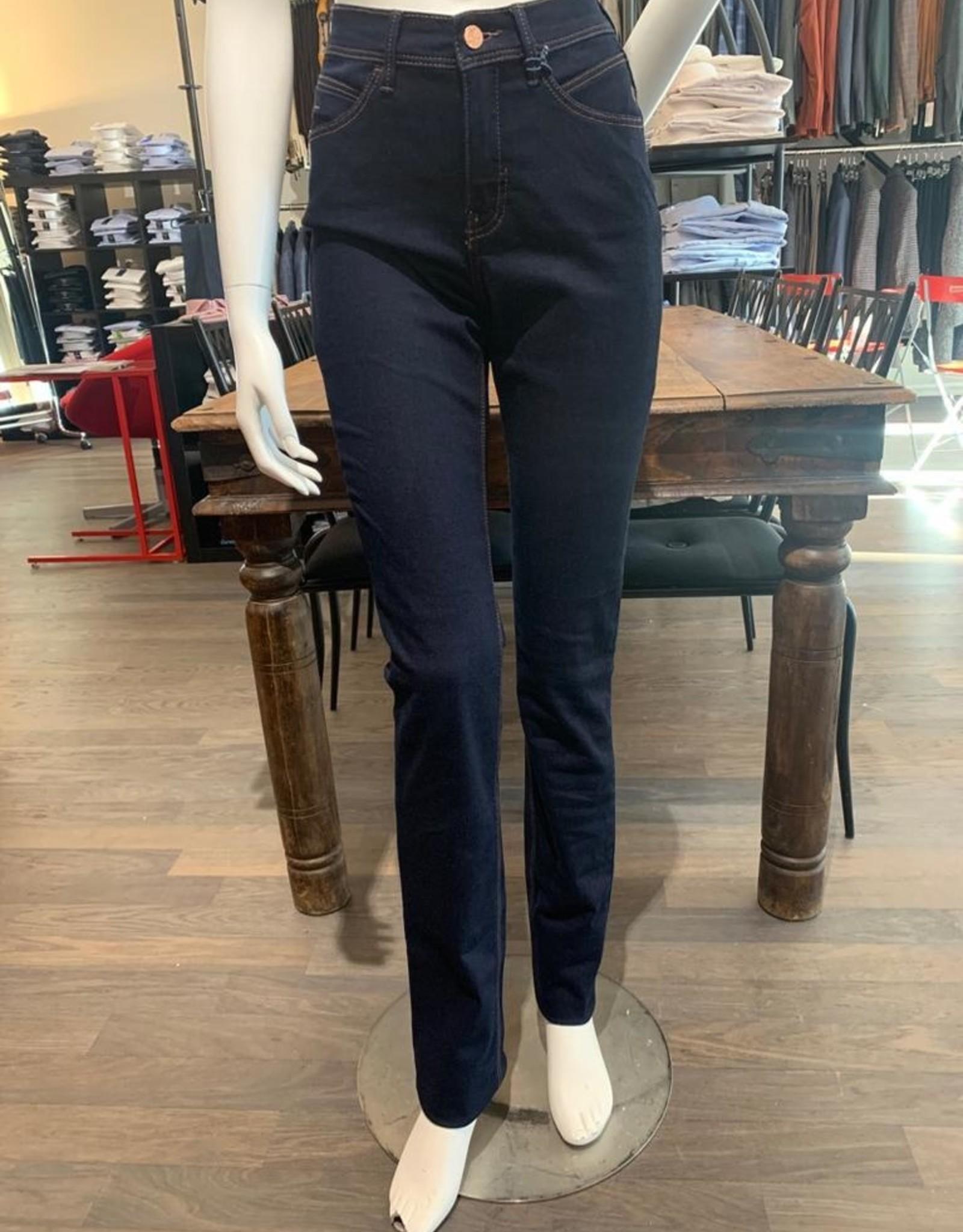 Paddock's Paddock's Pat, high rise slim leg, blue black soft stone