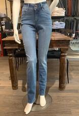 Paddock's Paddock's Pat, high rise slim leg, mid blue stone washed