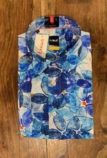 Kauf Kauf Hemd Modern Fit Kurzarm<br /> Blaue Blume