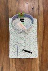 Kauf Kauf Hemd Body Fit <br /> Floral green<br /> Armlänge 72 cm
