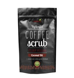 VIVACO Coffee Scrub met Kokosolie (100% organisch)