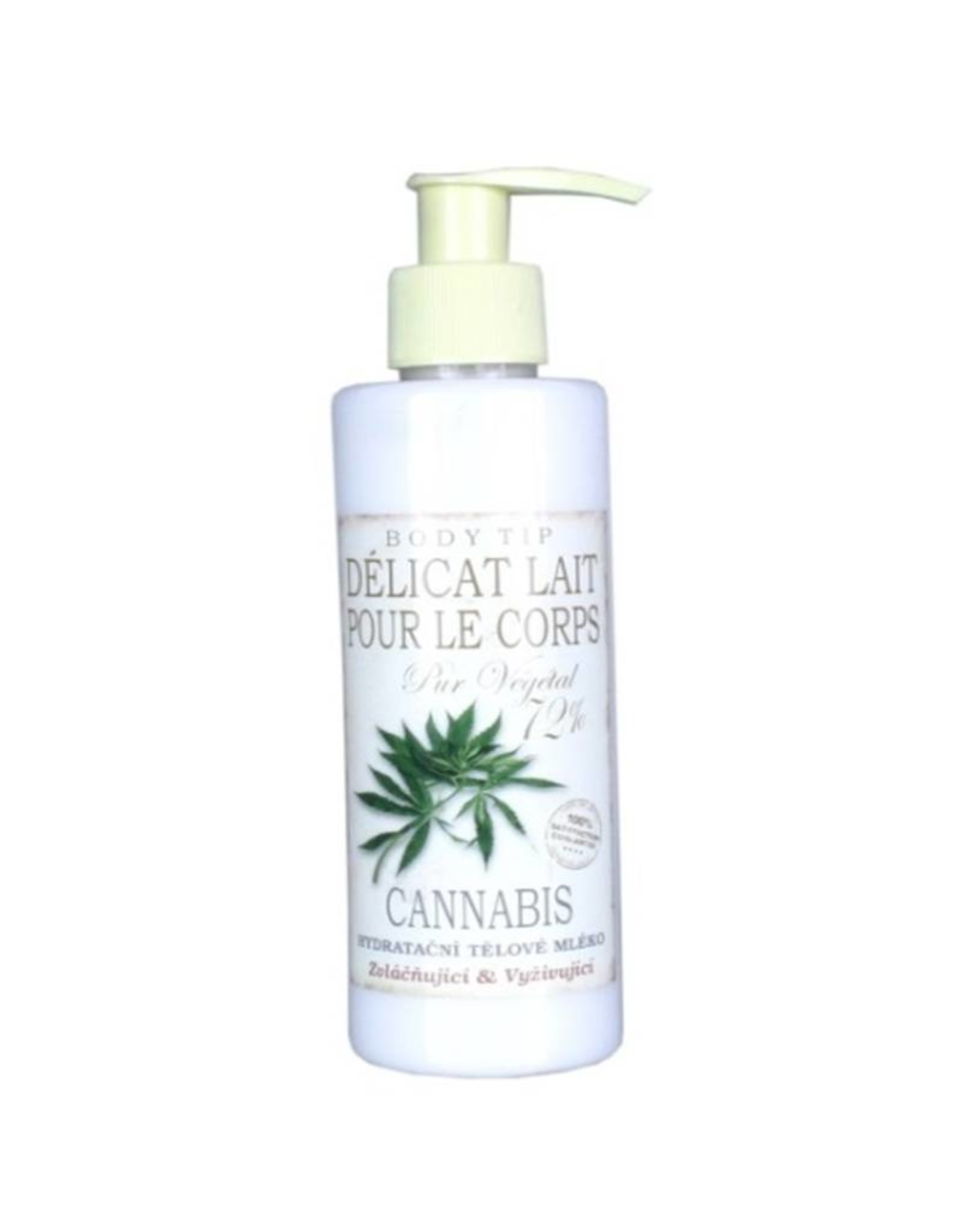 BODY TIP Hydraterende Bodymilk met Cannabis Extract