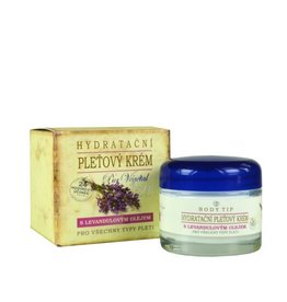 BODY TIP Hydraterende Gezichtscrème met Lavendel Geur