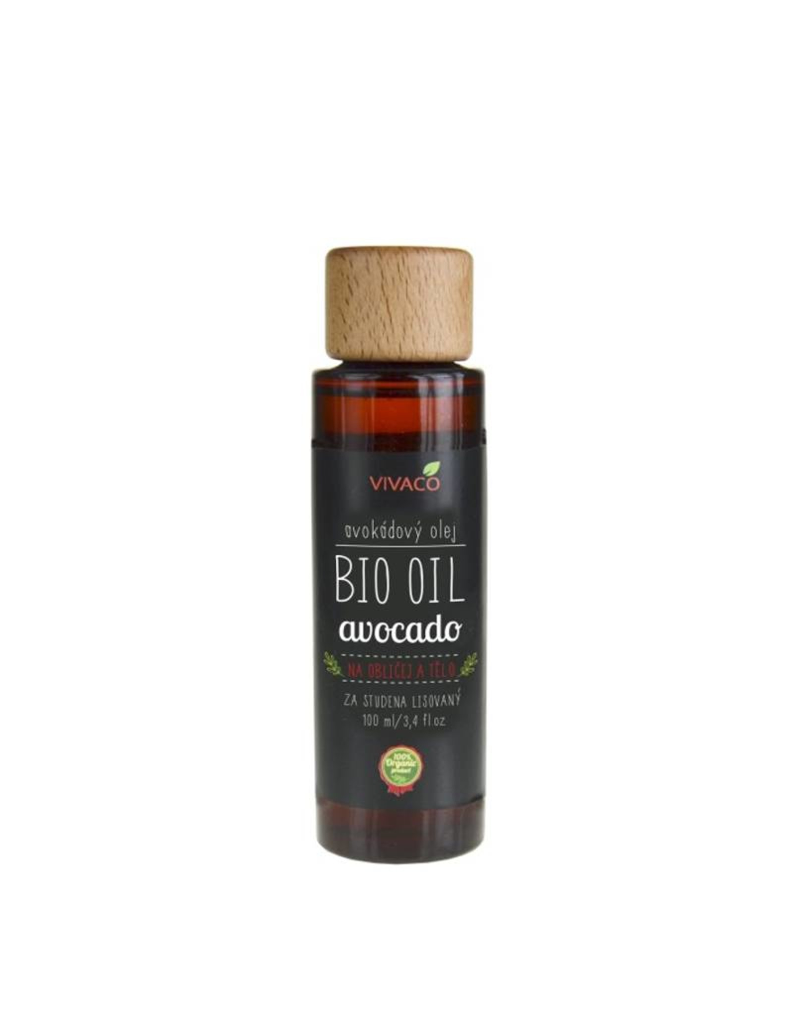 VIVACO BIO OIL - Avocado Olie (100% organisch)