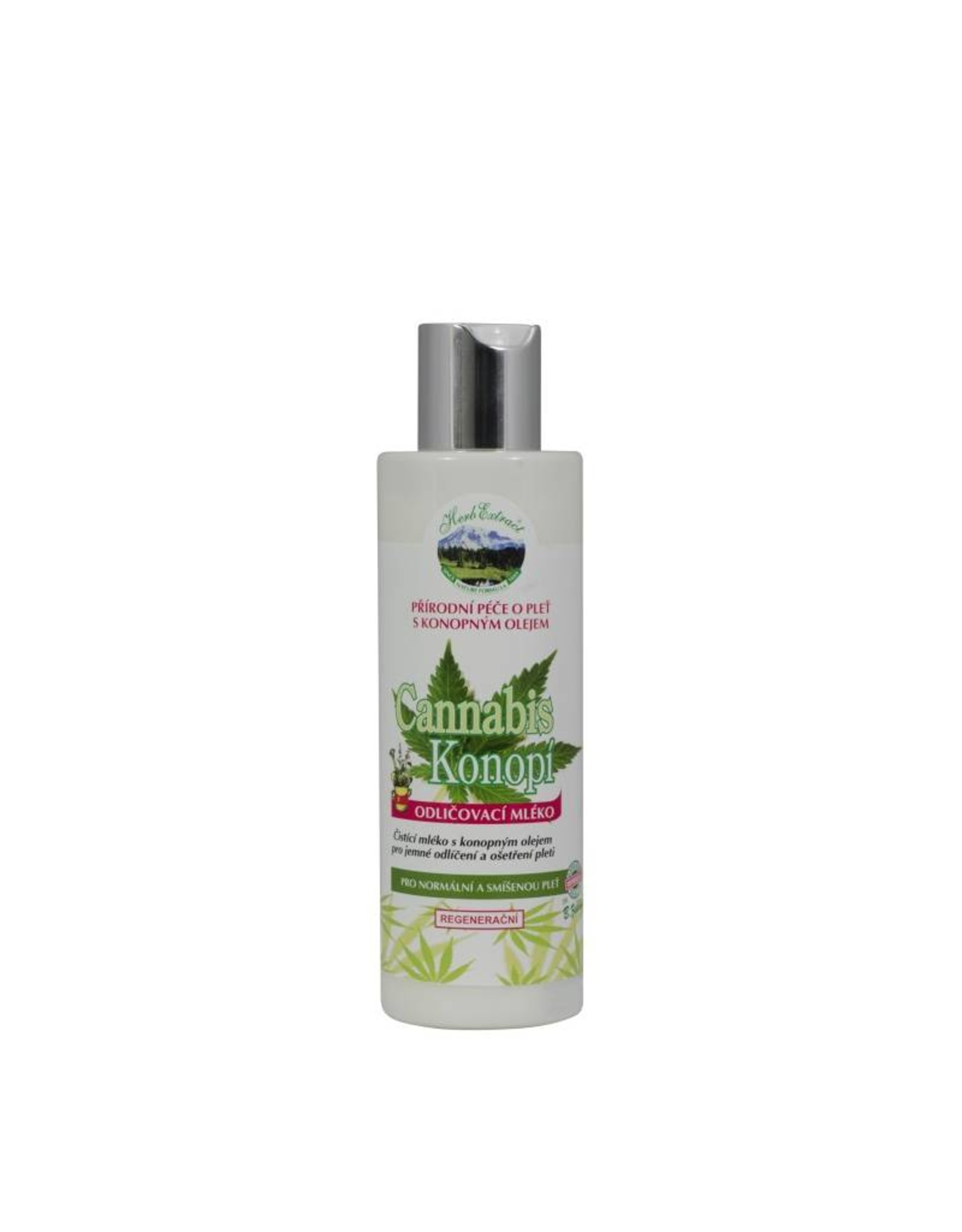 Herb Extract®  Facial Cleansing Milk met Cannabis olie