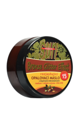 VIVACO SUN Zonnebrandcrème  met Arganolie en Glitters, SPF 15 - waterbestendig