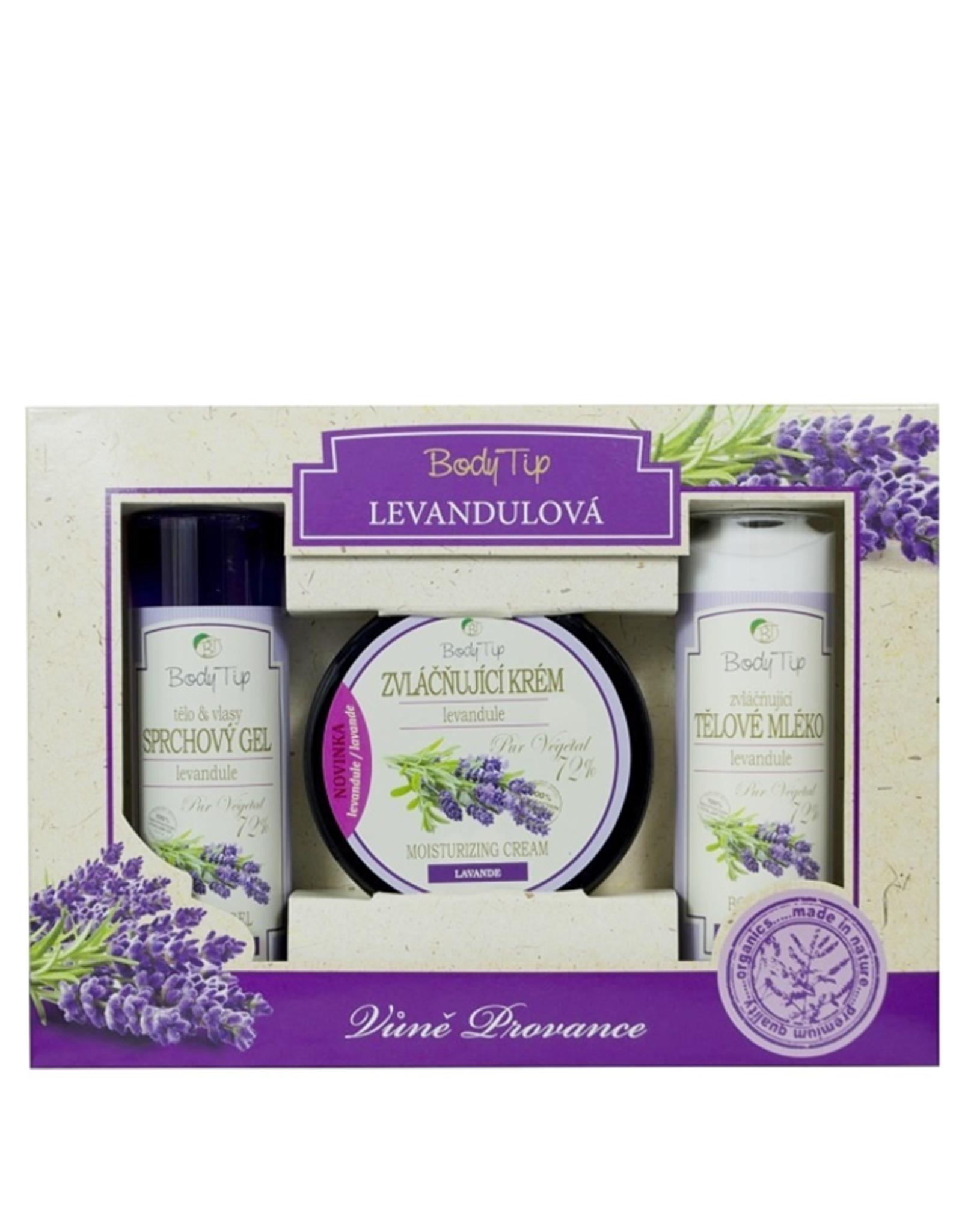 BODY TIP  Gift set met Lavendelolie