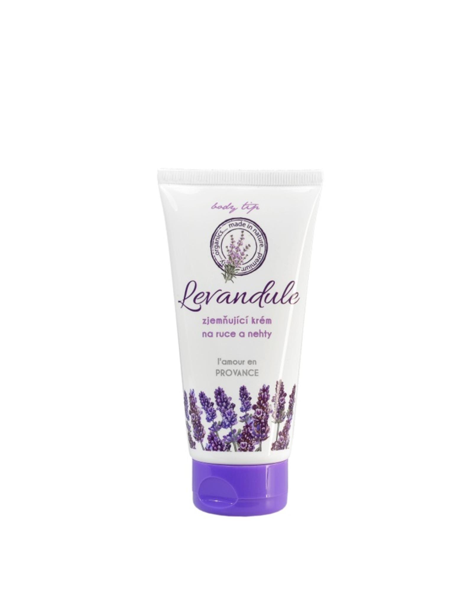 BODY TIP PREMIUM Verzachtende Handcrème  en Nagelcrème met Lavendelolie