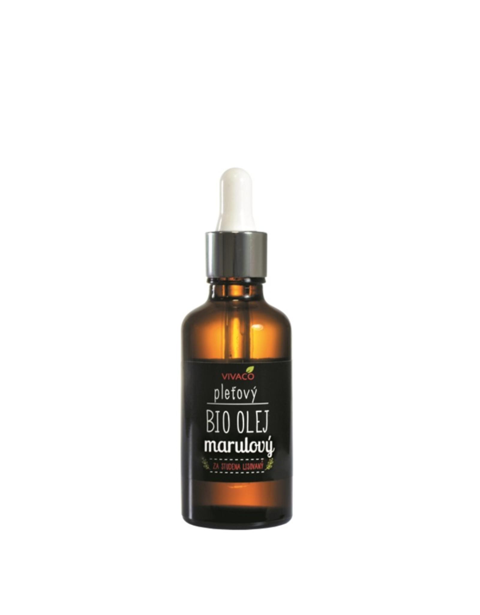 VIVACO BIO OIL 100% natuurlijke Marula Olie met pipet