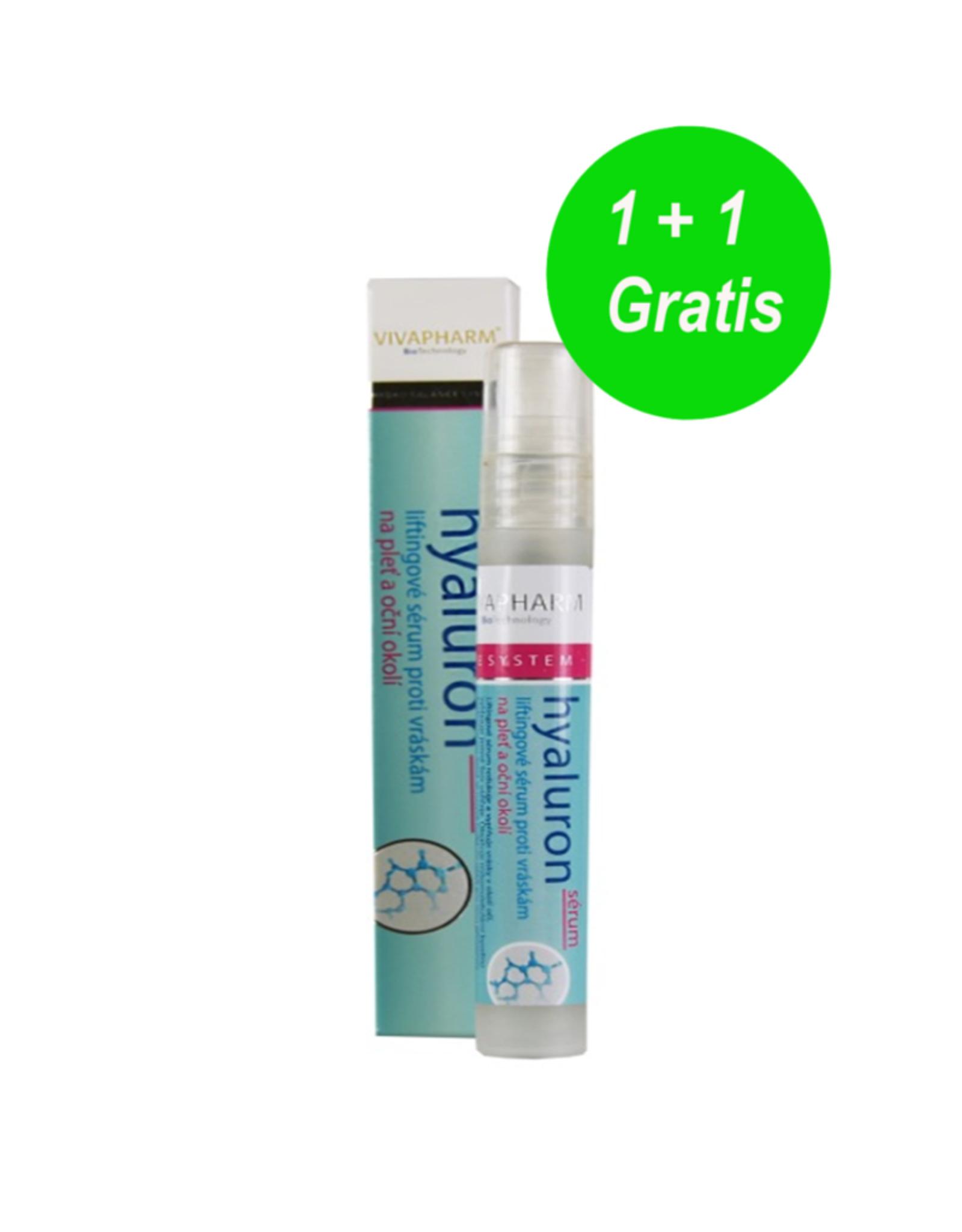 VIVAPHARM®   Liftende Anti-Ageing Serum met Hyaluronzuur 1 + 1 GRATIS
