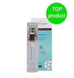 VIVAPHARM®   Liftende Anti-Ageing Serum met Hyaluronzuur 3%