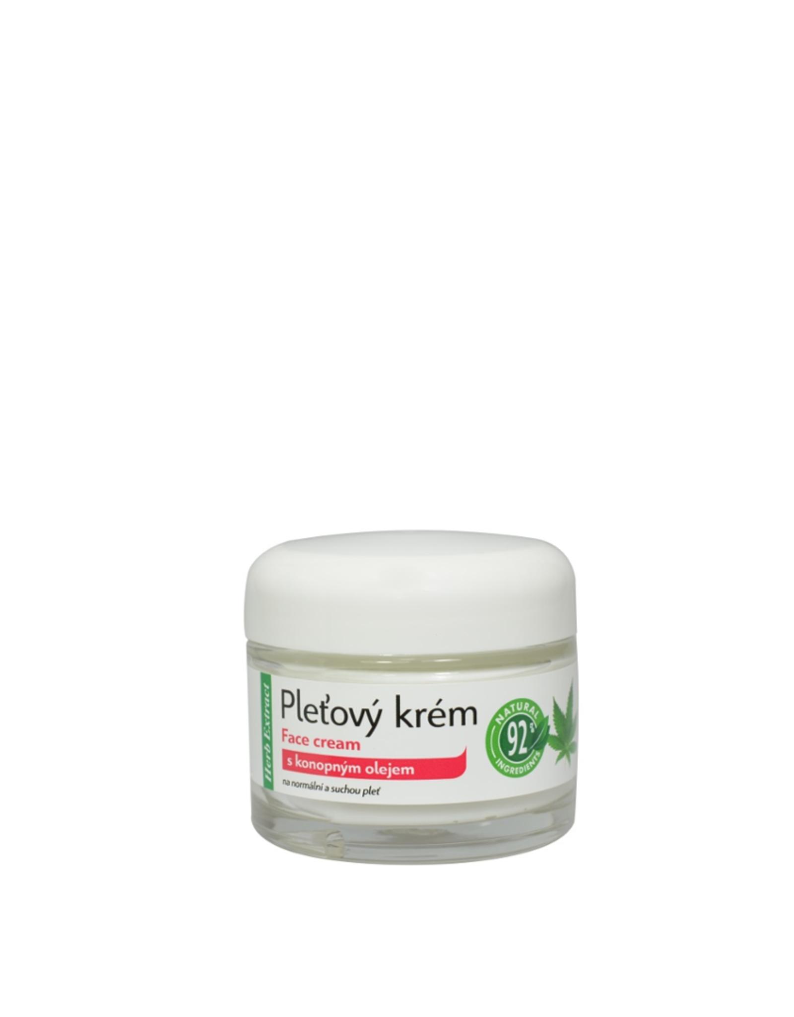 VIVAPHARM®   Voedende Anti-aging Gezichtscrème met Cannabis olie