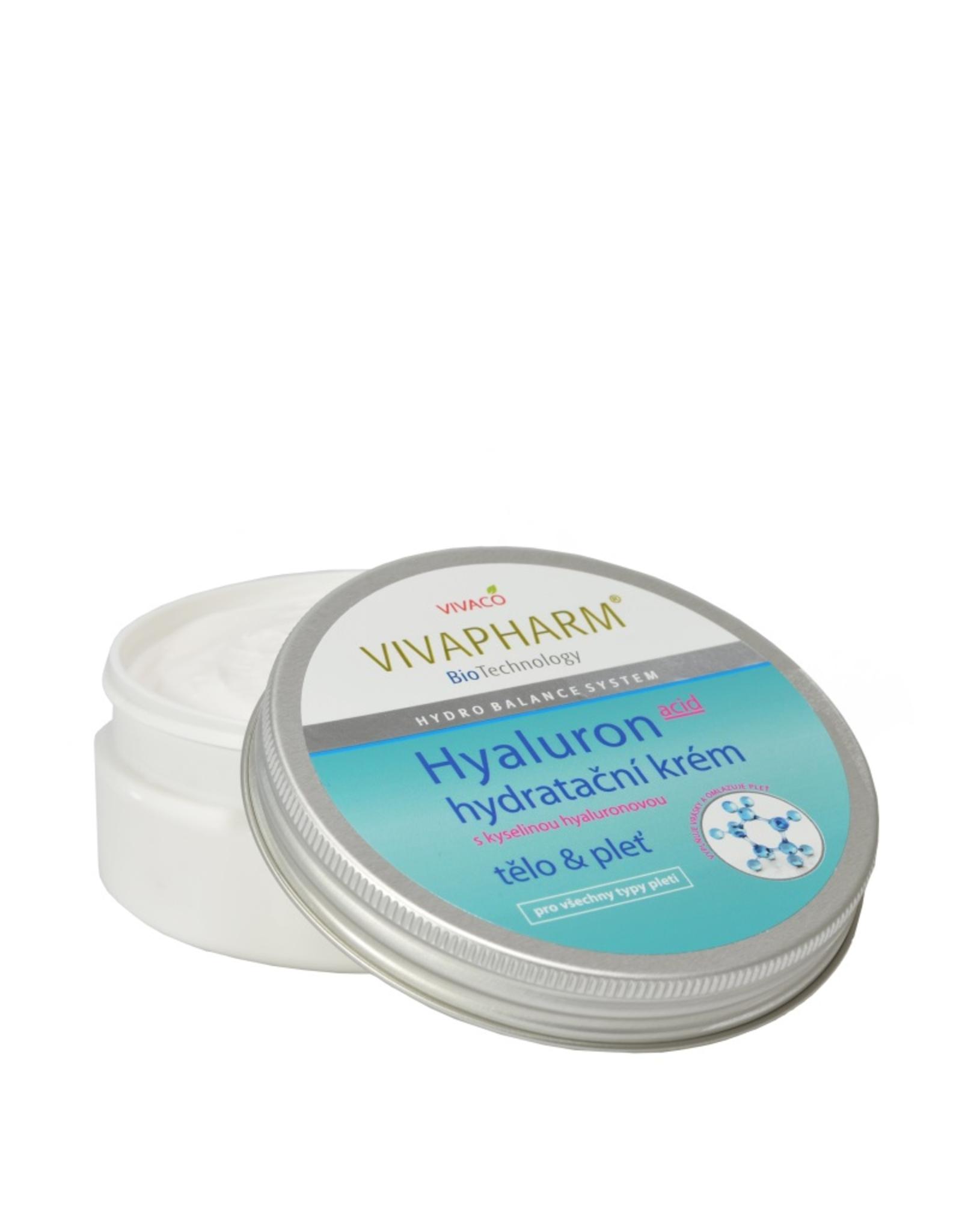 VIVAPHARM®    Hydraterende crème met hyaluronzuur voor lichaam en gezicht