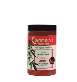 VIVACO Verwarmende Kruiden Massagegel met Cannabisolie