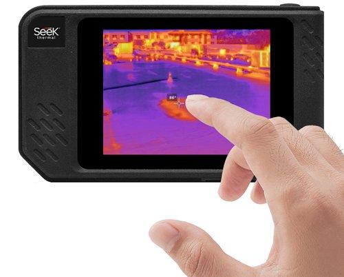 SEEK Shot Pro Warmtebeeldcamera's voor een zeer breed scala van toepassingen.