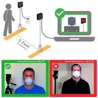SEEK Scan Temperatuur Screening Systeem voor bedrijven