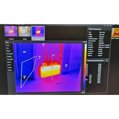 OMTools TIC-22 Wifi Thermal Imaging Camera 320 x 240 Thermal Pixel