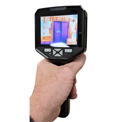 OMTools TIC-22 Wifi Warmtebeeld Camera met 320 x 240 Thermisch pixels