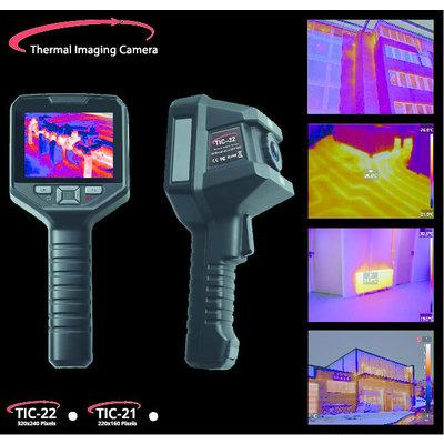 OMTools TIC-21 Warmtebeeld camera met Wifi en PC software 220 x 160 Pixels