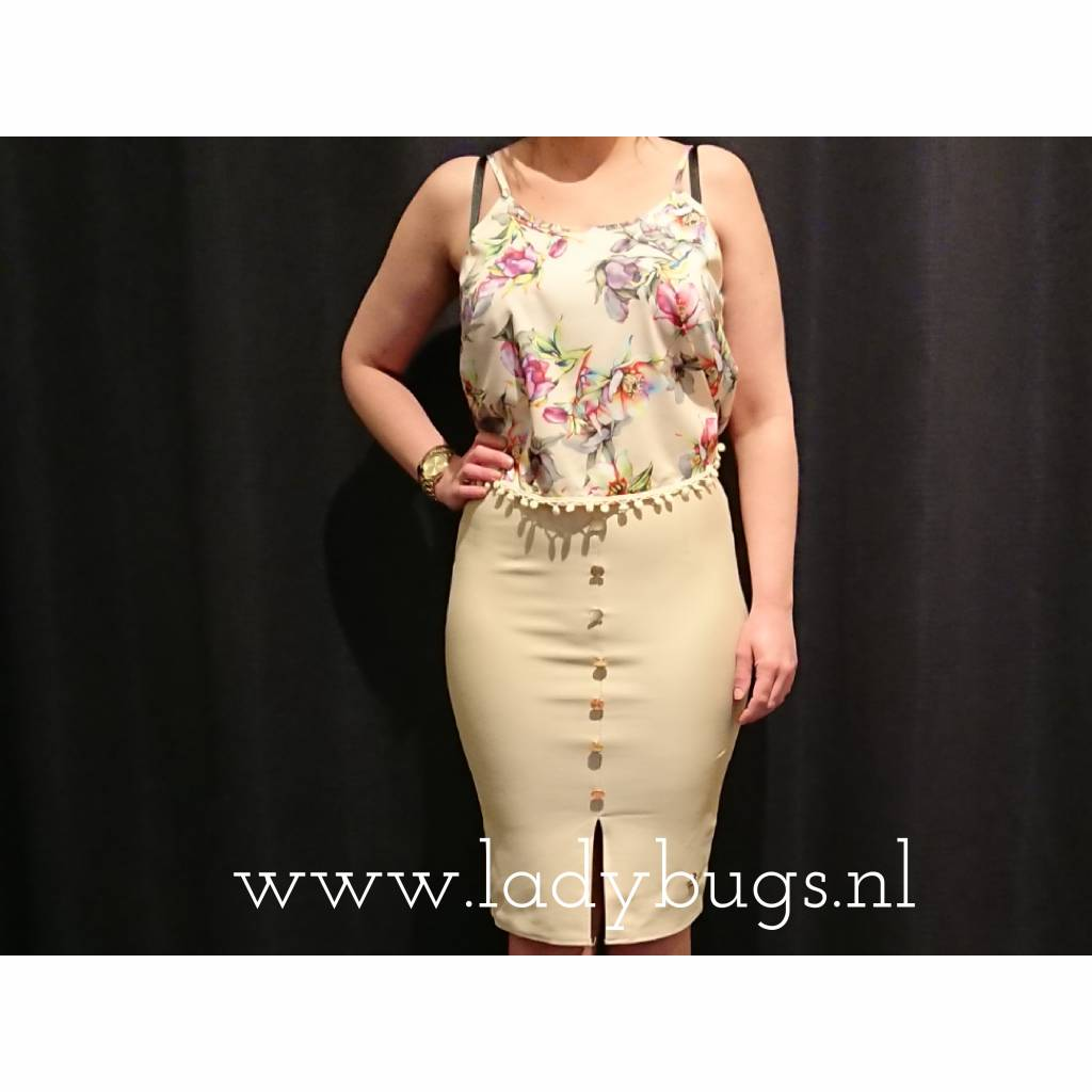 Maison Runway / Delousion SALE TOP GINGER FLOWERS DELOUSION