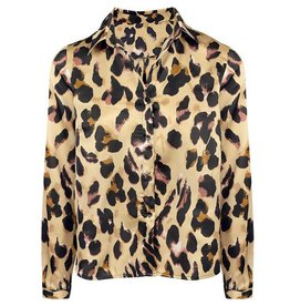 My jewellery LEOPARD BLOUSE BROWN MY JEWELLERY