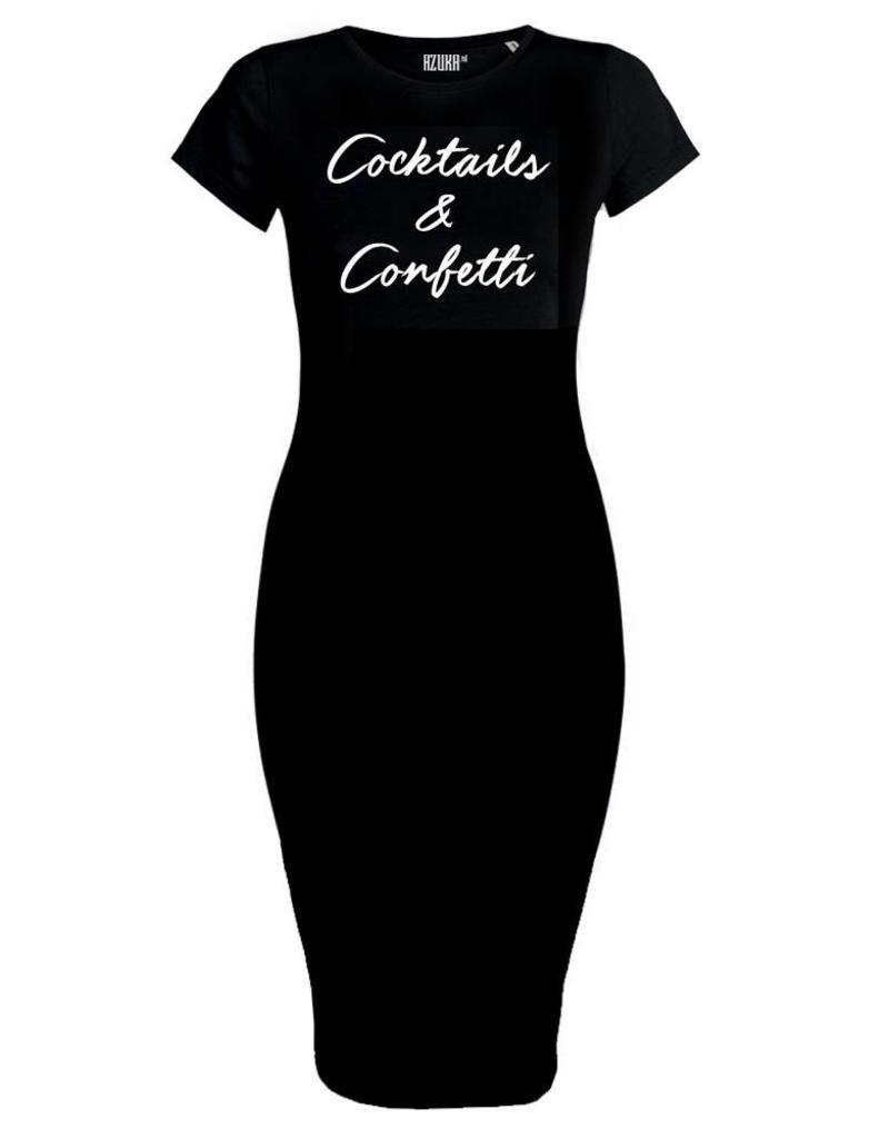 Azuka SALE COCKTAIL & CONFETTI DRESSES ZWART AZUKA