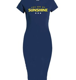 Azuka SALE YOU ARE MY SUNSHINE DRESSES NAVY AZUKA