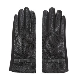 Ladybugs handschoenen dangerous but elegant zwart