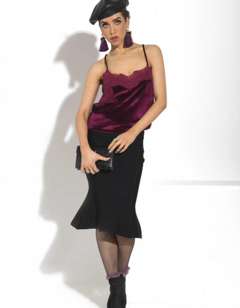Glamorous FLORA SKIRT BLACK  5563