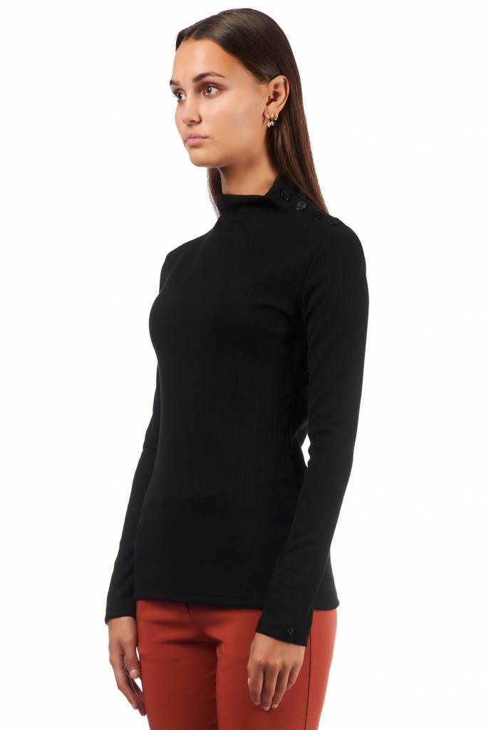 Given MARLEY TURTLE NECK GIVEN GW718106 BLACK