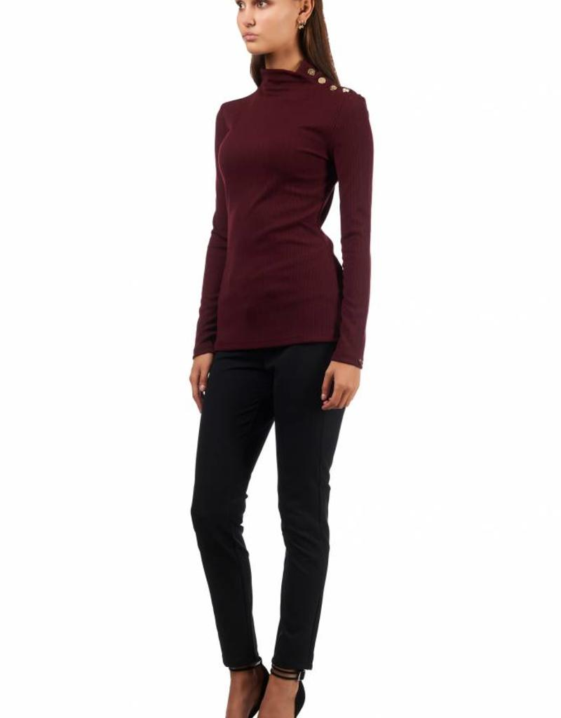Given MARLEY TURTLE NECK GIVEN GW718106 BORDEAUX