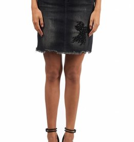 Royal Temptation BIRDY SKIRT RYL 399 ZWART DENIM